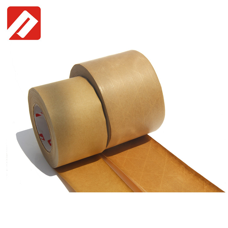 Free sample China factory Strong adhesive custom logo printed kraft paper bag tape