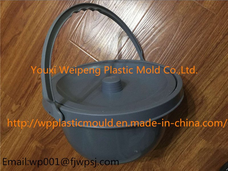 Medical Bedpan (ZBQ-01) with Cover for Wheelchair
