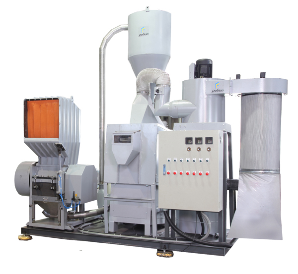 AL Series Cable Granulating & Copper Separating Recycling System