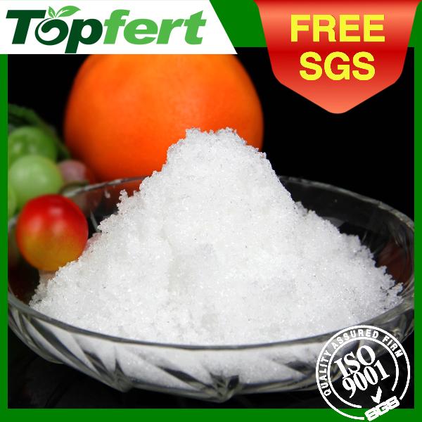 fertilizer calcium nitrate tetrahydrate formula