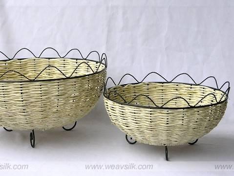 Rattan Serving baskets