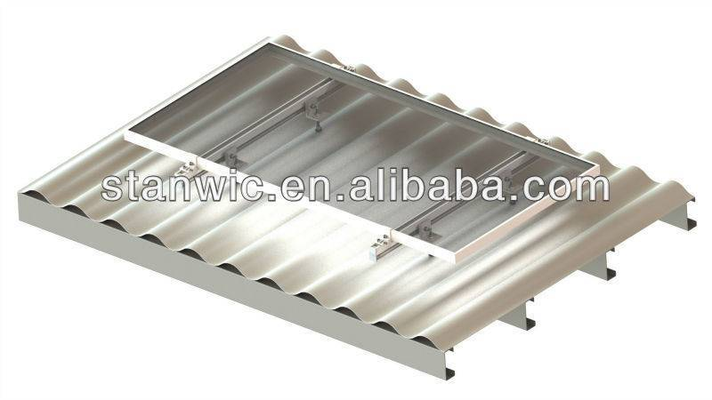 Solar metal mounting bracket