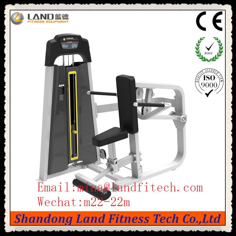 Leg Extension / Land fitness Square tube body building gym equipment