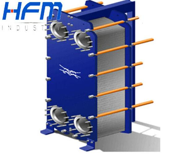 Industrial chiller equipment plate heat exchanger
