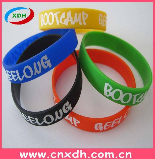Fashionable Silicone Slap Bracelet