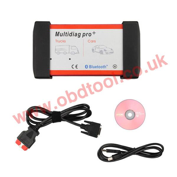 V2013.03 Bluetooth Multidiag Pro+ with Keygen for Cars/Trucks and OBD2 89.00EUR
