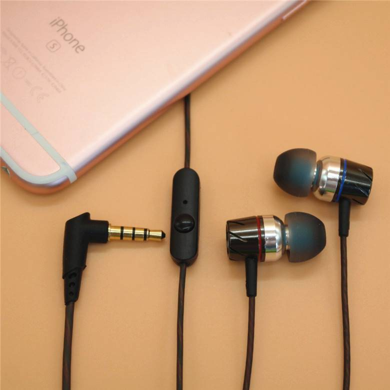 hot sale metal earphone for mobile phone