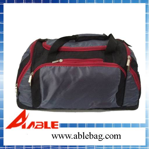 Gym sports bag with shoe compartment CS-008