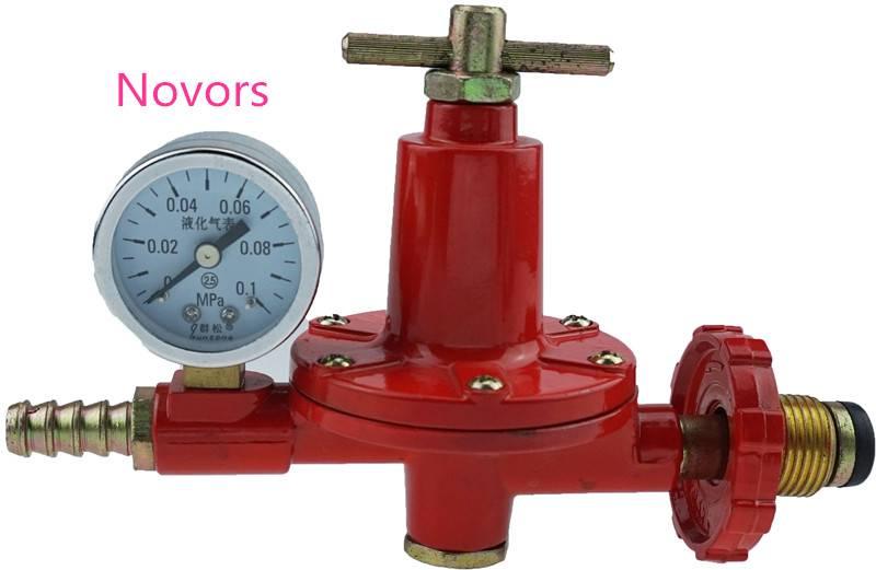 Big Flow Rate Gas Regulator With Meter
