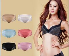 lace and cotton women underwear lady panty