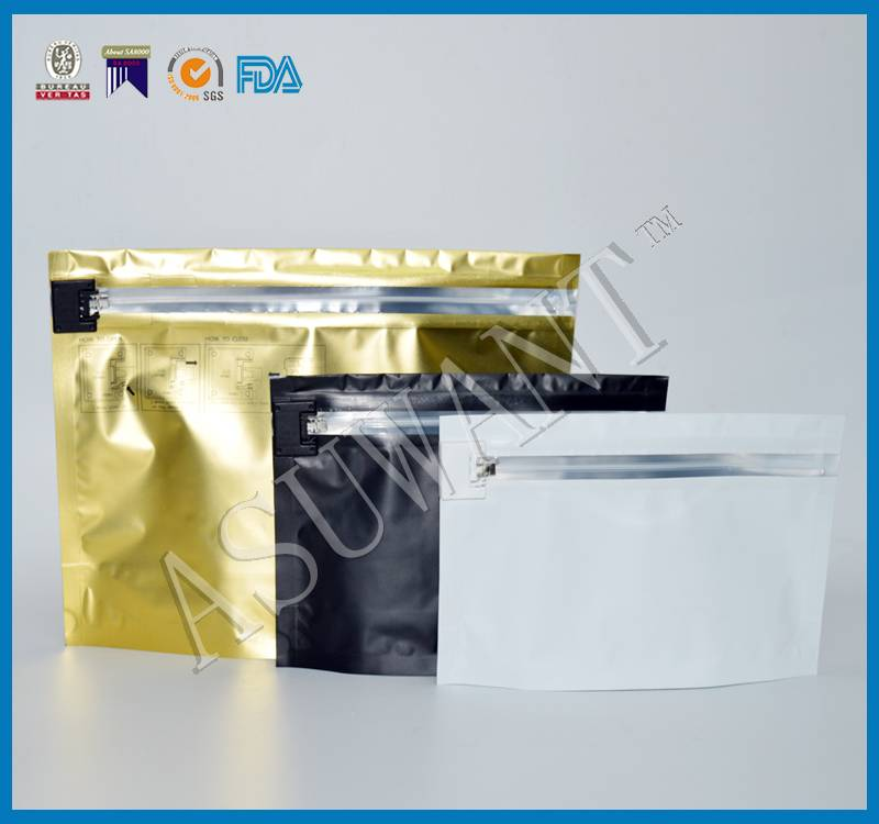 Child Resistant Ziplock Bag Child Resistant Bag with A Child-Proof Locking System Made in China