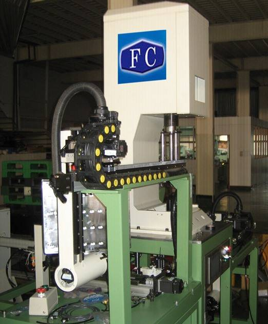 hydraulic absorber assembly machine
