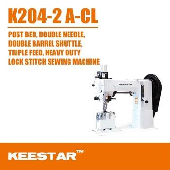 Keestar 204-2 A-CL double needle sewing machine