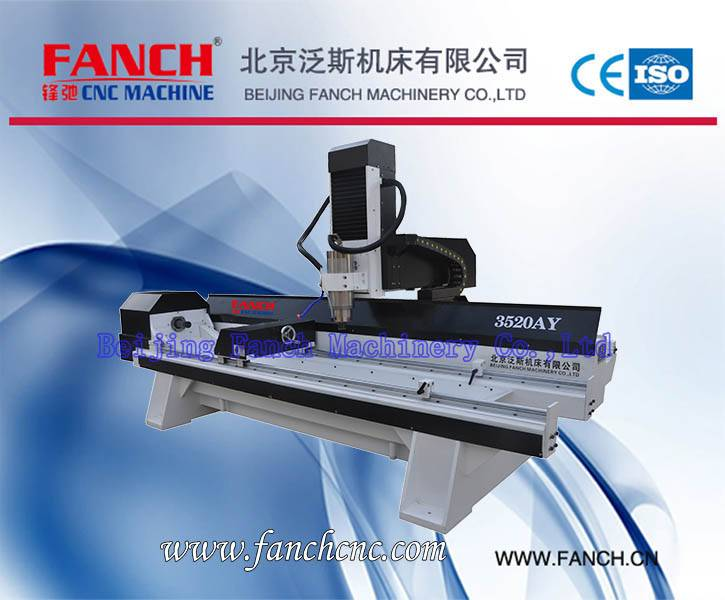 Wood Four Axis Cylinder 3D Engraving Machine[FC-3520AY]