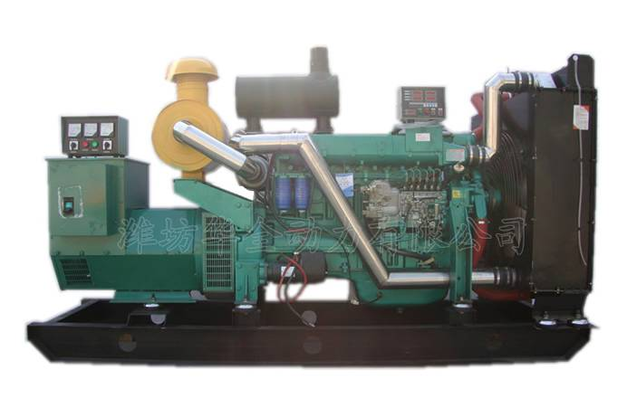 200kw diesel generator set with pure copper alternator