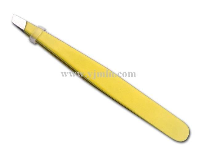 Sanding painting eyebrow tweezers,factory directly sale