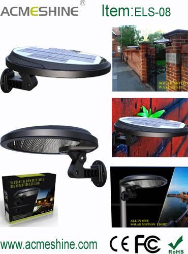 Detachable and Rotatable Solar Motion Wall Led Light