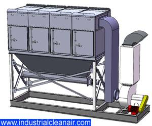 Skid Mounted Dust Collector