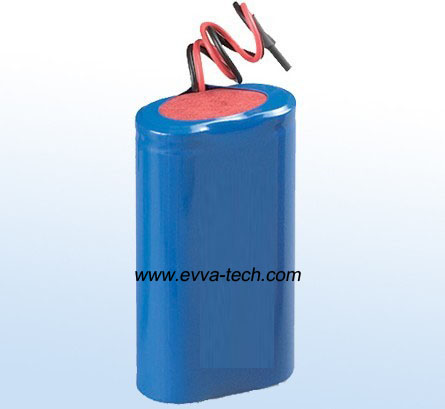 Battery Pack with 18650 7.4V 2200mAh 2S1P