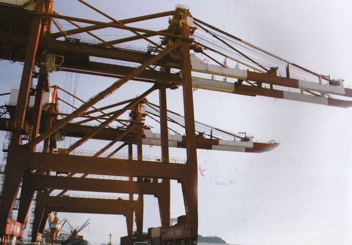 40 tons STS(ship to shore crane)