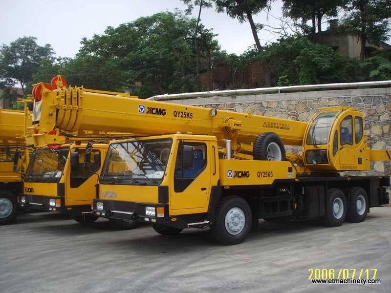 mobile crane QY25K5