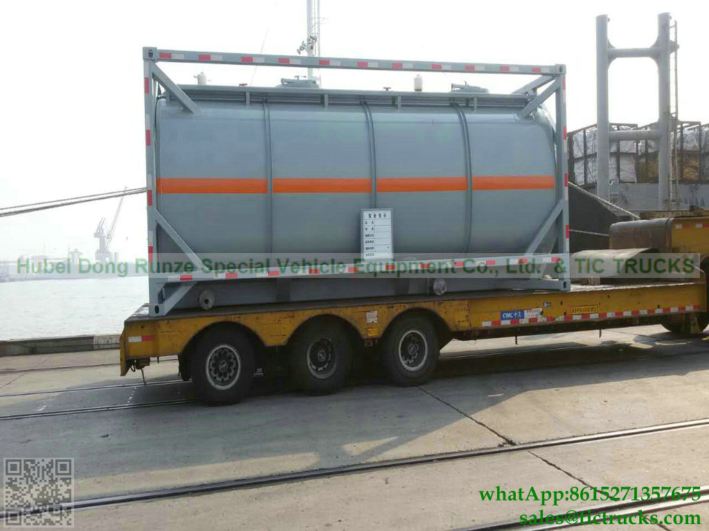 ISO TANK CONTAINER for for transport Ammonia liquid, acid, hydrochloric acid,Caustic soda