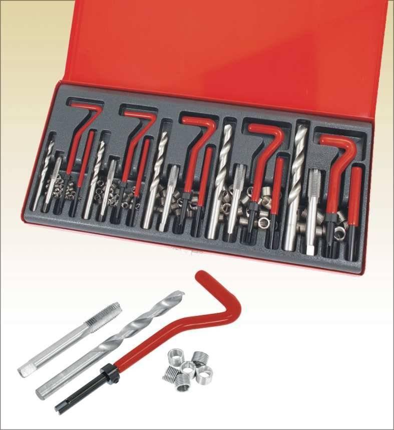 131pc Thread Repair tool kit