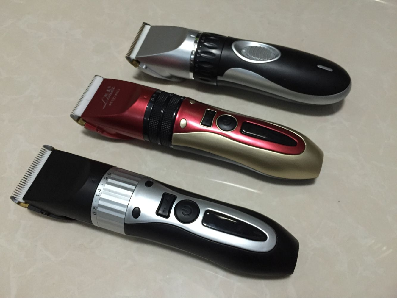 MGX1011 2000MAH Lithium Battery Rechargeable Hair Trimmer