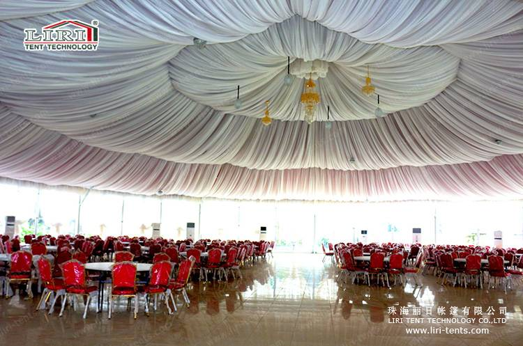 Big Party Marquee PVC Fabric Tent for New Year Parties