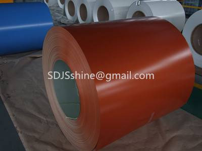 colour coated steel galvanized steel coil in China