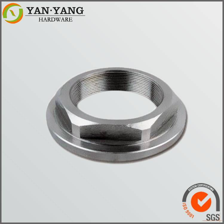 Precision cnc turning parts shaft cap aluminum machining parts