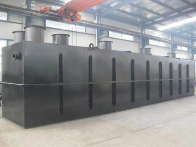 China Underground Integrated wastewater treatment plant for domestic and industrial sewage water