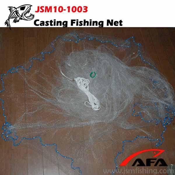Nylon monofilament cast fishing net
