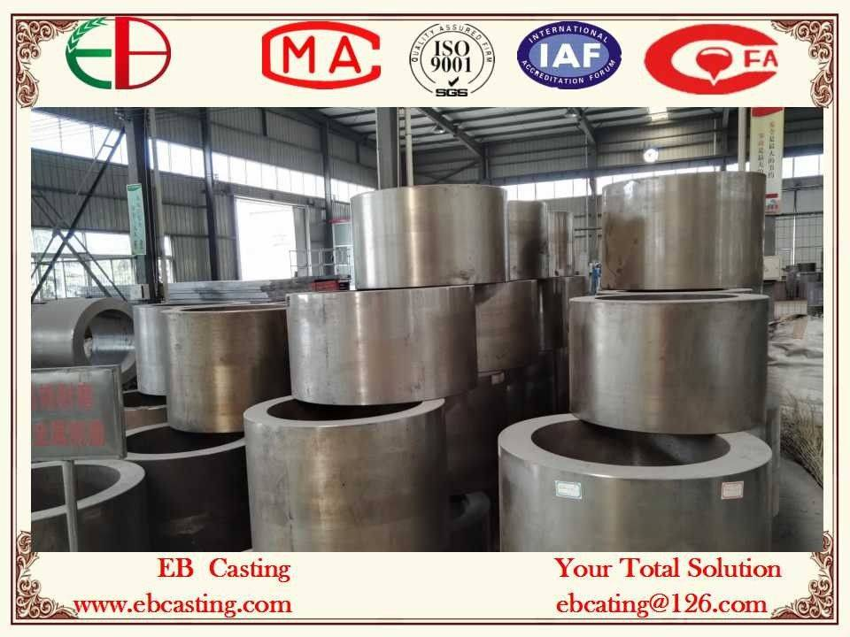 High Wear Bimetal Rolls for Cement Roller Crushers with Spun Cast Process EB13130