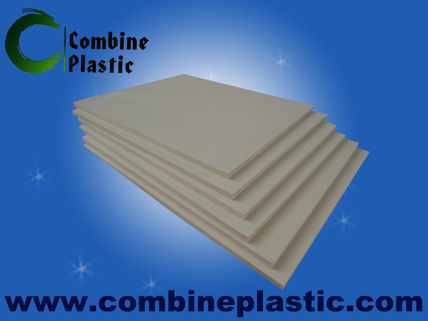 hotsales good quality pvc foam sheet from combine plastic