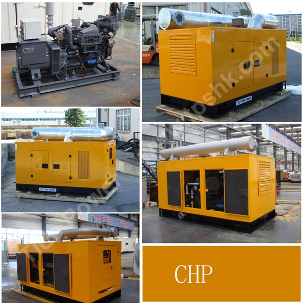 Deutz Gas Generator Set with CHP System Cogeneration of Heat and Power