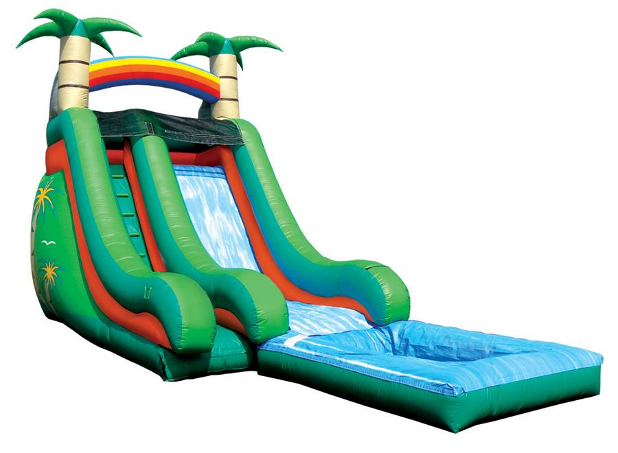 Lanqu inflatable commercial water slide