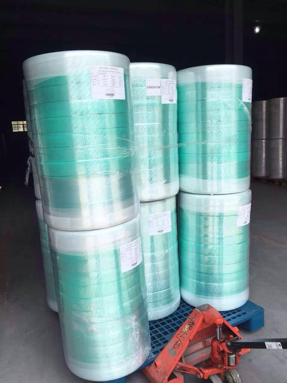 Green Anion nonwoven  Chip for Panty Liner