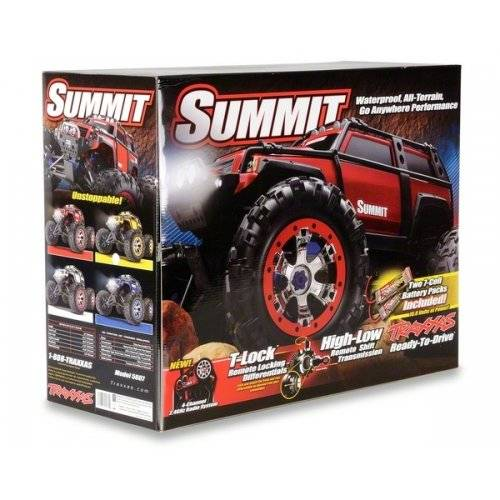 New Traxxas RTR 1/10 Monster Summit TRA5607 4WD 2.4GHz RTR