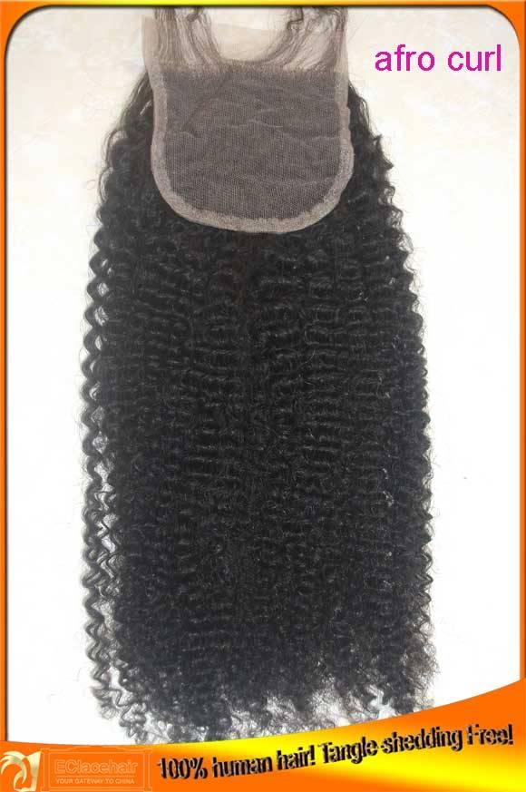 Wholesale Indian Peruvian Virgin Afro Curl Human Hair Deep Wave Lace Top Closures,Cheap Price,Bleach