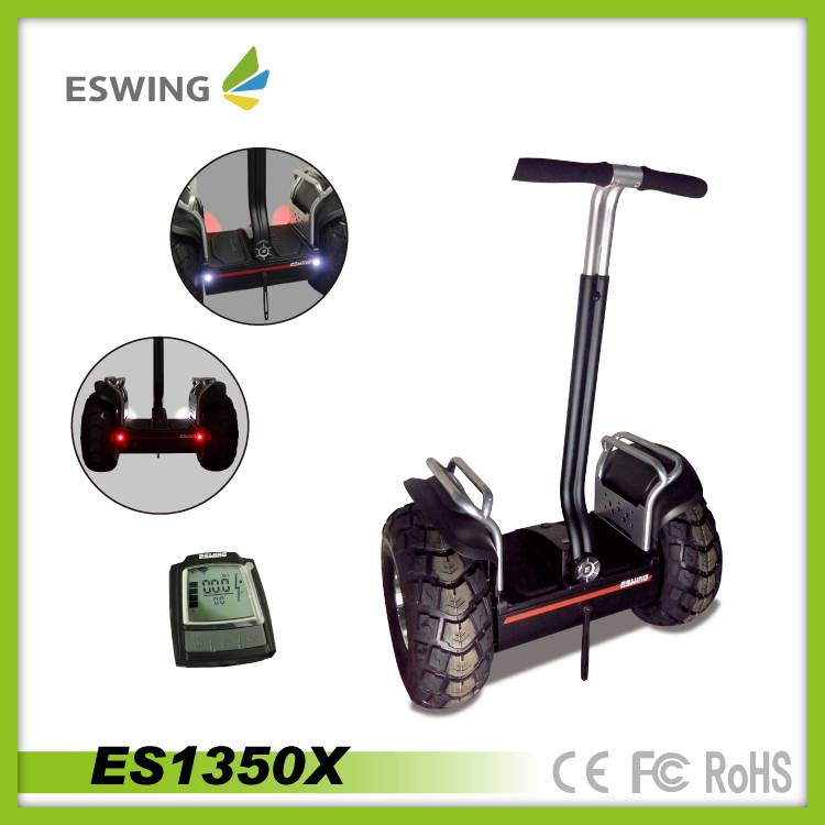 CE battery 2 wheels self balance electrical scooter with treadle