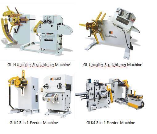 GL series 3 in 1 uncoiler straightener feeding machine