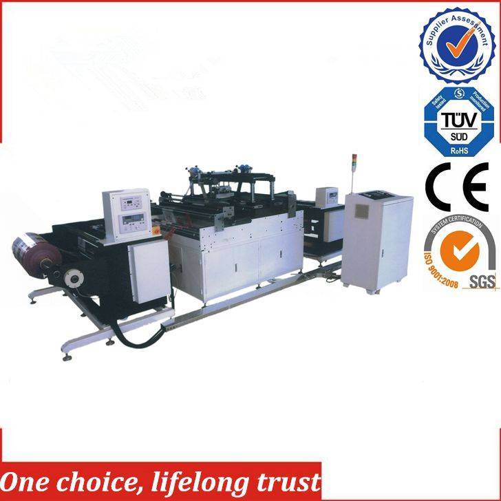 TJ-97 hot foil stamping machine roll to roll for plastic bags / film