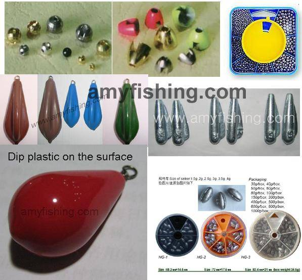 fishing sinker, iron sinker, fly beads, split sinker, tungsten sinker, fishing weight, fishing sinke
