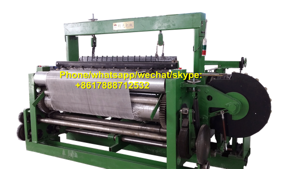 SG160/160-1J Heavy-duty Metal Wire Mesh Weaving Machine