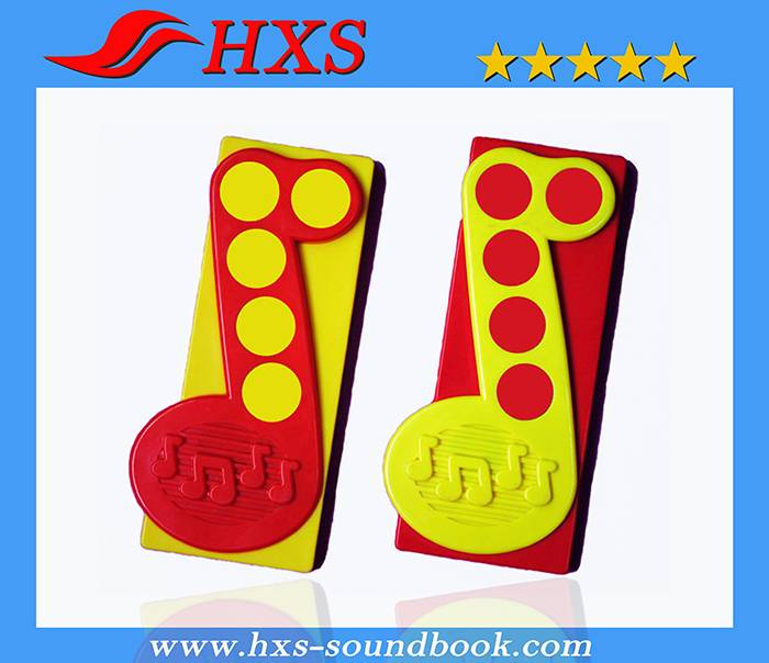 High Quality 5 Button Music Note Electronic Sound Module for Educational Book
