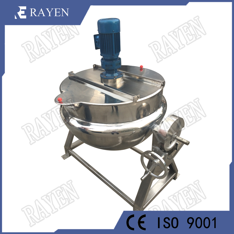Stainless Steel 304 Tilting Jacketed Kettle Steam Kettle Cooking Kettle