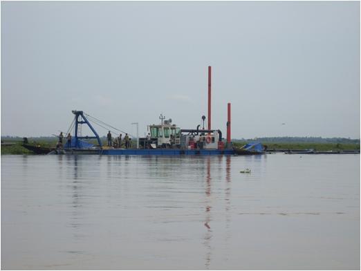 cutter suction sand dredger
