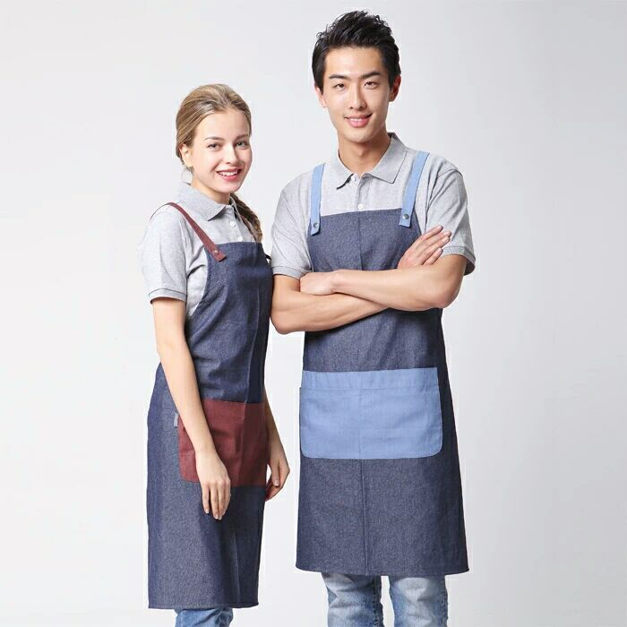 Custom High Quality Denim Work Apron
