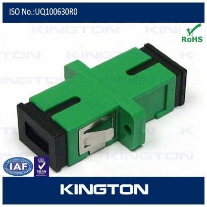 sc shutter fiber optic adapter